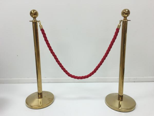 Red Rope and Pole (Pole Only)