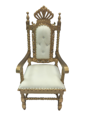 Gold Crown Chair