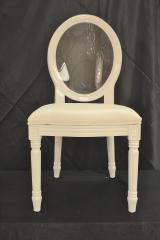 White Ghost Chair