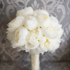 White Peonies Bouquet Flowers