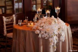 Sweetheart  Table Floral Arrangement 2