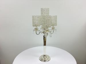Silver 30 Crystal Candelabra