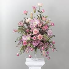 Pink and Lavender Vase Arrangement