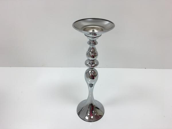 Silver Flower Stand