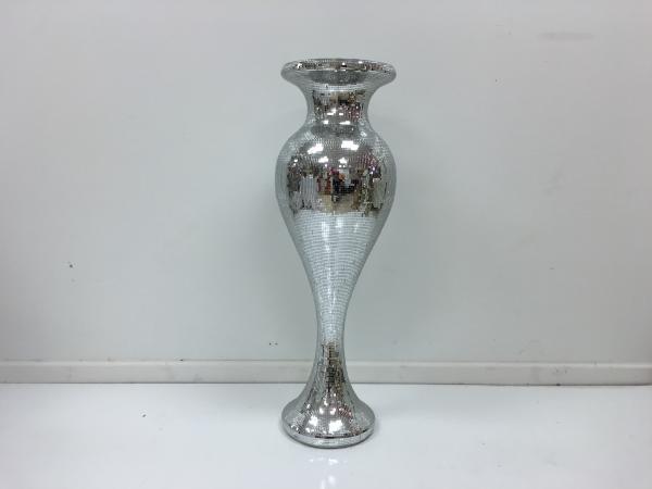 Silver 40 Mirror Vase 3