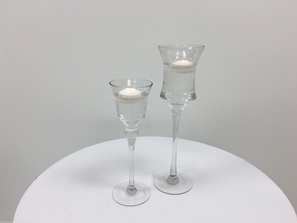 Floating Tulip Duo Set Candle Holders