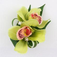 Cymbidium Orchid Pin or Hand Wrist