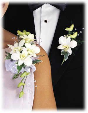 Dendrobium Orchid Corsage or Pin