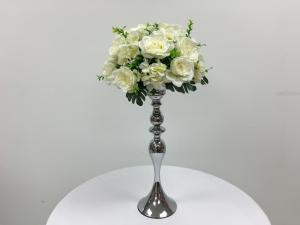Small White Roses Flower Arrangement