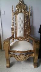 Gold Lion King Chair