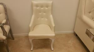 White Bling Chair