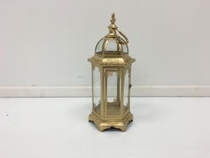 Gold 21 Fleur De Lis Lantern