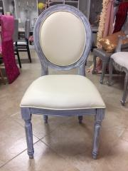 Rustic Ivory Chair