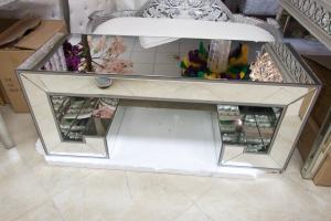 Mirror Coffee Table 4\'