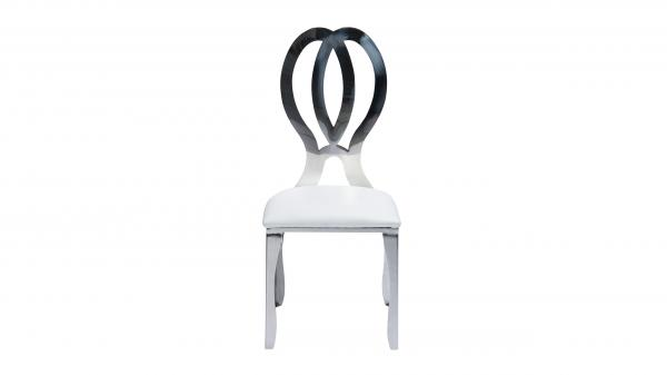 Cartier Double Infinity Chair (Silver)