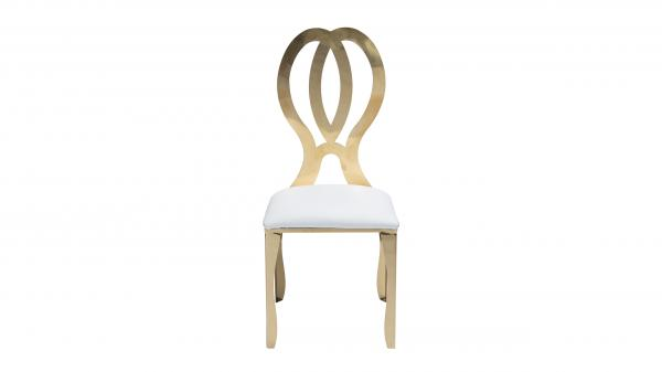 Cartier Doulbe Infinity Chair (Gold)