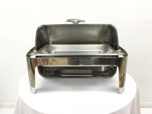 Roll Top Chrome Chafer