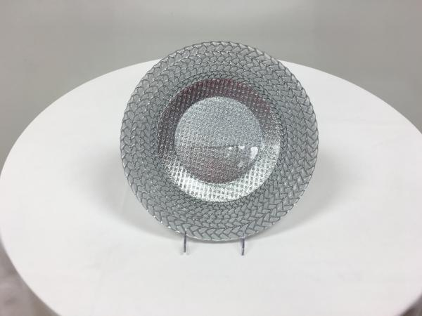 Silver Glass Charger