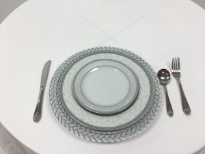 Silver Deluxe Tableware Set