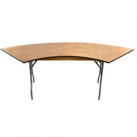 Curve Wood Table