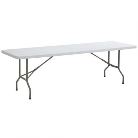 Rectangle 8\' Plastic Table