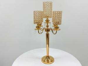 Gold 30 Crystal Candelabra
