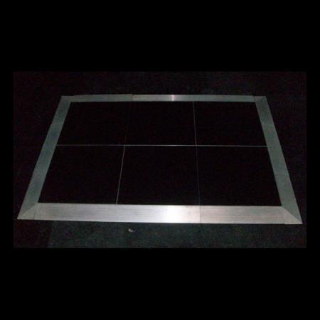 Black Dance Floor 4\'x4\' Panel