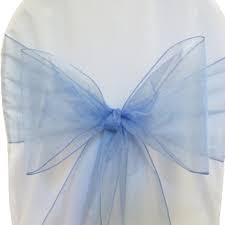 Chair Sashe Organza Color Periwinkle