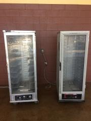 Electric Upright Hot Box 9 Shelfs