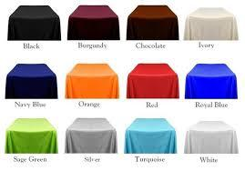 Satin Tablecloth 72\