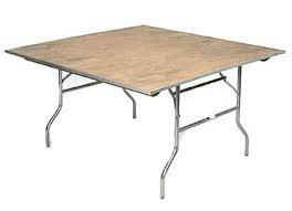 Square Table, 60\