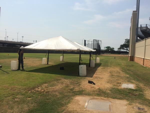 20\' x 50\' Tent Frame / Set up