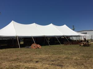 30\' x 100\' Tent Frame / Set up