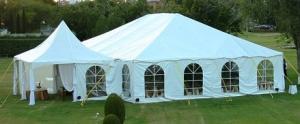 40\' x 40\' Tent Frame / Set up