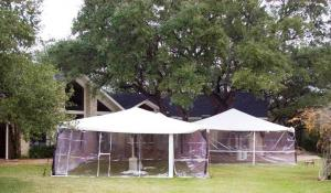 Tent Side wall, 8\' clear per/sq.ft