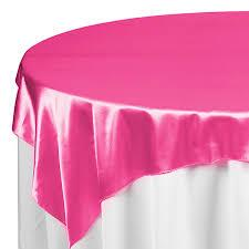 Overlay Satin Color Fuchsia