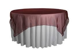 Overlay Organza Color Burgundy