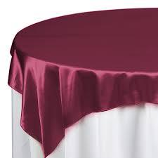 Overlay Satin Color Burgundy