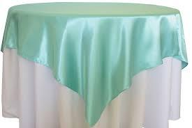 Overlay Satin Color Tiffany Blue