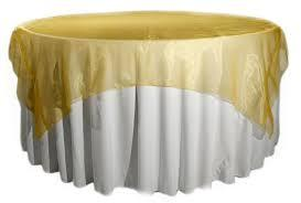 Overlay Organza Color Gold
