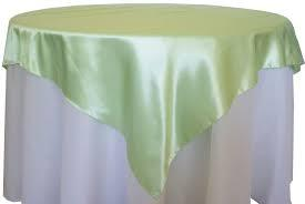Overlay Satin Color Mint Green