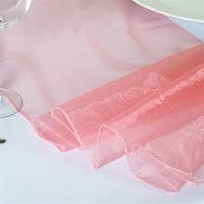 Table Runner Organza Rose