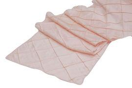 Table Runner Pintuck Taffeta Color Rose