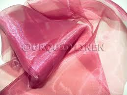 Table Runner Organza Apple Red