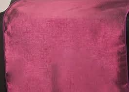 Table Runner Taffeta Color Burgundy