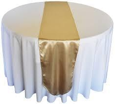 Table Runner Satin Color Cappuccino