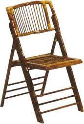 Folding Chair Bamboo