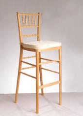 Chiavari Natural Wood Barstool