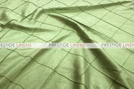 Table Runner Pintuck Taffeta Color Willow