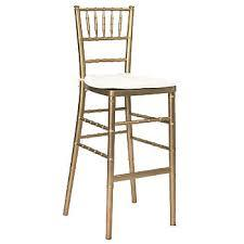 Chiavari Gold Bar stool